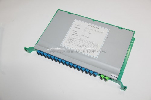 PLC pallet optical splitter
